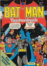 Cover Thumbnail for Batman Taschenbuch (Egmont Ehapa, 1978 series) #24