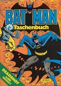 Cover Thumbnail for Batman Taschenbuch (Egmont Ehapa, 1978 series) #25