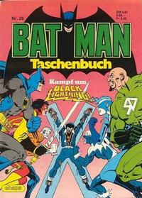 Cover Thumbnail for Batman Taschenbuch (Egmont Ehapa, 1978 series) #26
