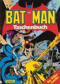 Cover Thumbnail for Batman Taschenbuch (Egmont Ehapa, 1978 series) #29