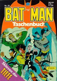 Cover Thumbnail for Batman Taschenbuch (Egmont Ehapa, 1978 series) #33