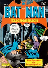 Cover Thumbnail for Batman Taschenbuch (Egmont Ehapa, 1978 series) #34