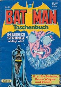 Cover Thumbnail for Batman Taschenbuch (Egmont Ehapa, 1978 series) #35