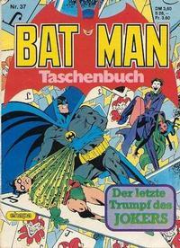 Cover Thumbnail for Batman Taschenbuch (Egmont Ehapa, 1978 series) #37