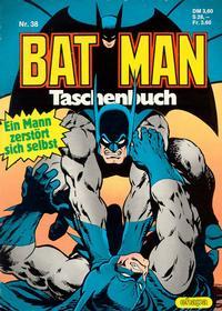 Cover Thumbnail for Batman Taschenbuch (Egmont Ehapa, 1978 series) #38
