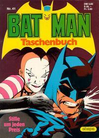Cover Thumbnail for Batman Taschenbuch (Egmont Ehapa, 1978 series) #41