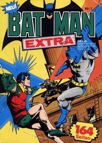 Cover Thumbnail for Batman Extra (Egmont Ehapa, 1980 series) #1