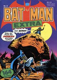 Cover Thumbnail for Batman Extra (Egmont Ehapa, 1980 series) #5