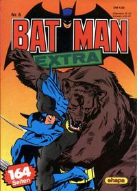 Cover Thumbnail for Batman Extra (Egmont Ehapa, 1980 series) #6