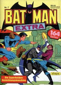 Cover Thumbnail for Batman Extra (Egmont Ehapa, 1980 series) #7