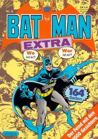 Cover Thumbnail for Batman Extra (Egmont Ehapa, 1980 series) #9