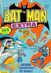 Cover Thumbnail for Batman Extra (Egmont Ehapa, 1980 series) #10