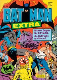 Cover Thumbnail for Batman Extra (Egmont Ehapa, 1980 series) #11