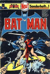 Cover Thumbnail for Batman Sonderheft (Egmont Ehapa, 1976 series) #1
