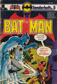 Cover Thumbnail for Batman Sonderheft (Egmont Ehapa, 1976 series) #5