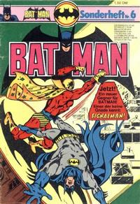 Cover Thumbnail for Batman Sonderheft (Egmont Ehapa, 1976 series) #6