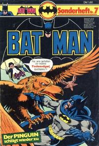 Cover Thumbnail for Batman Sonderheft (Egmont Ehapa, 1976 series) #7