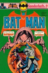 Cover Thumbnail for Batman Sonderheft (Egmont Ehapa, 1976 series) #9