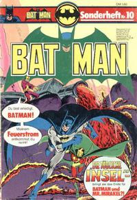 Cover Thumbnail for Batman Sonderheft (Egmont Ehapa, 1976 series) #10