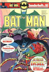 Cover Thumbnail for Batman Sonderheft (Egmont Ehapa, 1976 series) #10