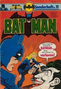 Cover Thumbnail for Batman Sonderheft (Egmont Ehapa, 1976 series) #11