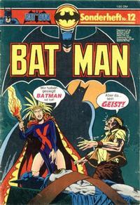 Cover Thumbnail for Batman Sonderheft (Egmont Ehapa, 1976 series) #12