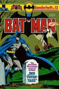 Cover Thumbnail for Batman Sonderheft (Egmont Ehapa, 1976 series) #13