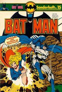 Cover Thumbnail for Batman Sonderheft (Egmont Ehapa, 1976 series) #15