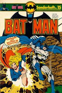 Cover Thumbnail for Batman Sonderheft (Egmont Ehapa, 1976 series) #15