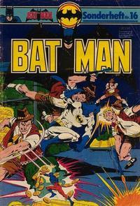Cover Thumbnail for Batman Sonderheft (Egmont Ehapa, 1976 series) #16
