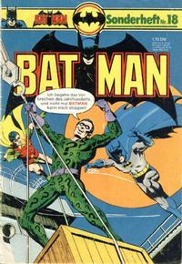 Cover Thumbnail for Batman Sonderheft (Egmont Ehapa, 1976 series) #18