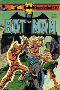Cover Thumbnail for Batman Sonderheft (Egmont Ehapa, 1976 series) #20
