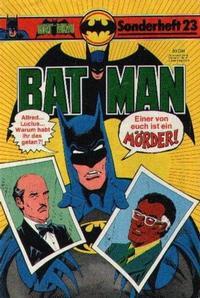 Cover Thumbnail for Batman Sonderheft (Egmont Ehapa, 1976 series) #23
