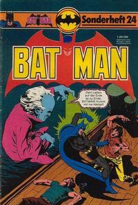 Cover Thumbnail for Batman Sonderheft (Egmont Ehapa, 1976 series) #24