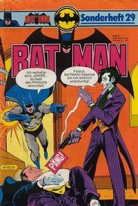 Cover Thumbnail for Batman Sonderheft (Egmont Ehapa, 1976 series) #29