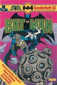 Cover Thumbnail for Batman Sonderheft (Egmont Ehapa, 1976 series) #33