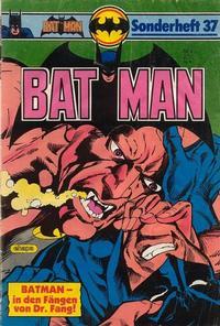 Cover Thumbnail for Batman Sonderheft (Egmont Ehapa, 1976 series) #37