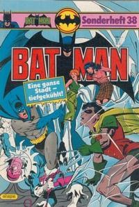 Cover Thumbnail for Batman Sonderheft (Egmont Ehapa, 1976 series) #38