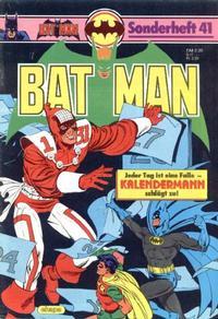 Cover Thumbnail for Batman Sonderheft (Egmont Ehapa, 1976 series) #41