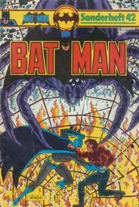 Cover Thumbnail for Batman Sonderheft (Egmont Ehapa, 1976 series) #42