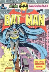 Cover Thumbnail for Batman Sonderheft (Egmont Ehapa, 1976 series) #43