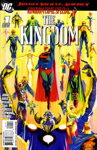 Cover Thumbnail for JSA Kingdom Come Special: The Kingdom (DC, 2009 series) #1 [Alex Ross Cover]