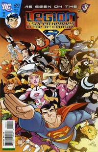 Cover Thumbnail for The Legion of Super-Heroes in the 31st Century (DC, 2007 series) #20 [Direct Sales]