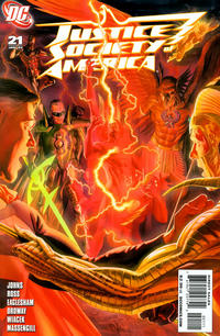 Cover Thumbnail for Justice Society of America (DC, 2007 series) #21 [Alex Ross Cover]