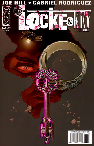 Cover for Locke & Key (IDW, 2008 series) #6