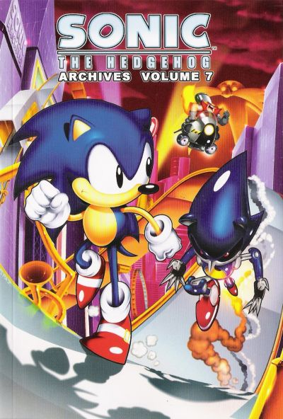 Cover for Sonic the Hedgehog Archives (Archie, 2006 series) #7
