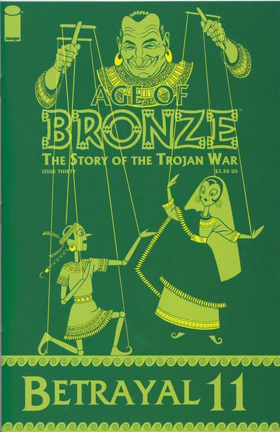 Cover for Age of Bronze (Image, 1998 series) #30