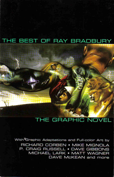 Cover for The Best of Ray Bradbury: The Graphic Novel (ibooks, 2003 series)