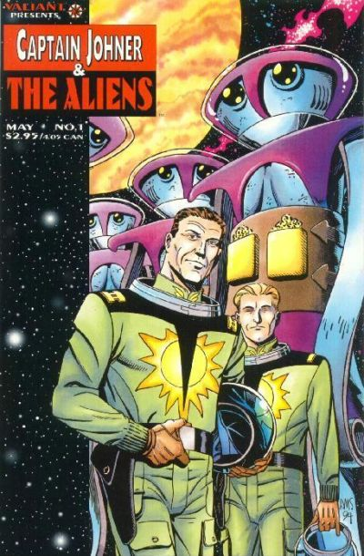 Cover for Captain Johner & the Aliens (Acclaim / Valiant, 1995 series) #1