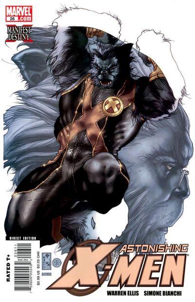 Cover for Astonishing X-Men (Marvel, 2004 series) #26